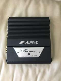 Alpine MRP-M350 700W V-Power Mono Power Amp Monoblock