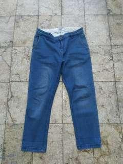 Cropped Denim / Jeans Pull and Bear Original