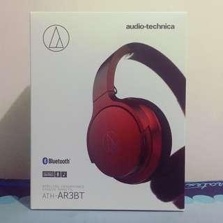 Audio-Technica ATH-AR3BT Red Bluetooth Headphones