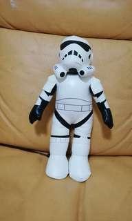 limited edition star wars storm trooper squishy doll