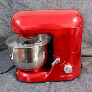 Andrew James 5.2 Litre Stand Food Mixer for Baking Cakes