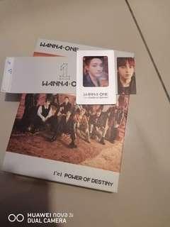 🚚 Wanna one Power of Destiny album