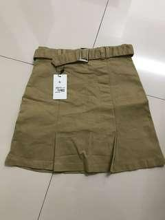 Tapas Buckle Belt Skirt