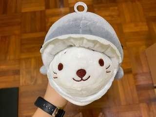Mini shark plushie