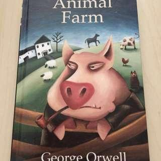 Animal Farm- George orwell (hard cover)
