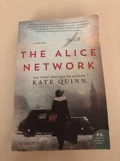 the alice network large paperback
