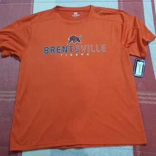 Legit BNWT High School Brentsville Tigers T-Shirt L