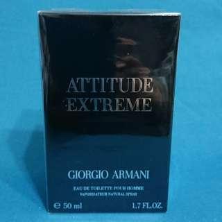 Giorgio Armani Attitude Extreme  Eau de Toilette 經典 香水 打火機