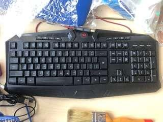 🚚 Red Dragon Backlid Keyboard