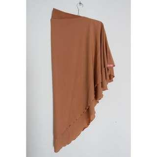 Khimar Diamond 2 Layer Mocca FREE BROS