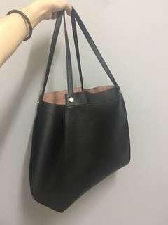 H&M Soft Leather Handbag (free delivery)