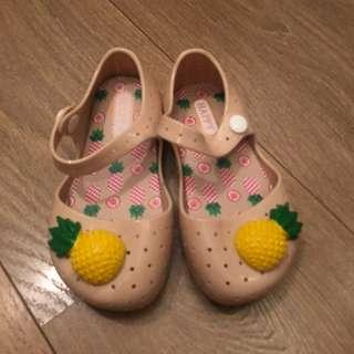 Pineapple Jelly Shoes for Children Girls shoes
