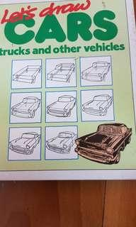 Let's draw cars, trucks and other vehicles