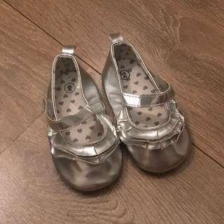 Baby Shoes for girls silver shoes