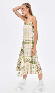 Zara Chequered Dress (used for shoot only)
