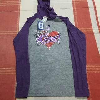 Legit Brand New With Tags NBA Sacramento Kings Hoodie Jacket Women's Medium