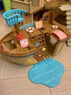 森林家族 adventure treasure ship