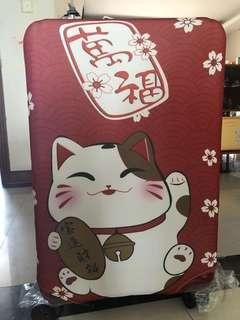 New Instock Travel Luggage Cover Lucky Cat 20inch