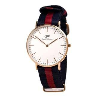 🚚 (SALE) Authentic Daniel Wellington Classic Oxford 40mm Rose Gold White