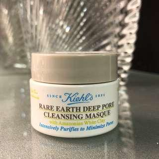 Kiehl's Rare Earth Deep Pore Cleansing Masque 亞瑪遜白泥毛孔深層清潔面膜 14ml