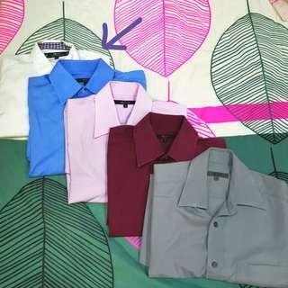 THREE G2000 Shirt Bundle size 15.5/32.5 and 15.5/33.5