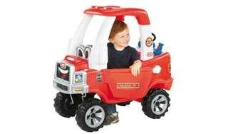 Little Tikes Cozy Fire Truck Coupe