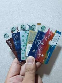 Starbucks Cards (as lot)