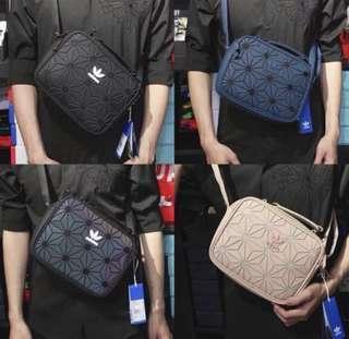 Instock Adidas Issey miyake mini airliner sling bag