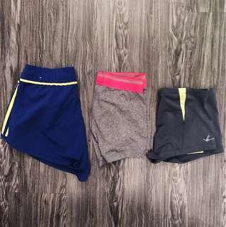 🚚 Adidas/bodynits/cotton on shorts