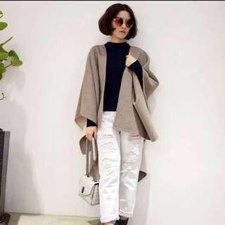 Dresscode 雙層雙色cashmere 披肩