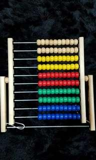 Abacus toy like new