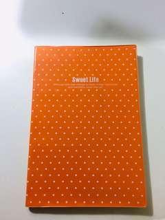 🚚 大吉大利  橘🍊 線條筆記本  🧨🥳