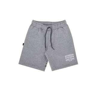 Stoned Entity Short Pant Grey