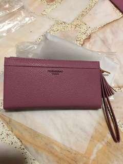 🚚 pink colour wallet
