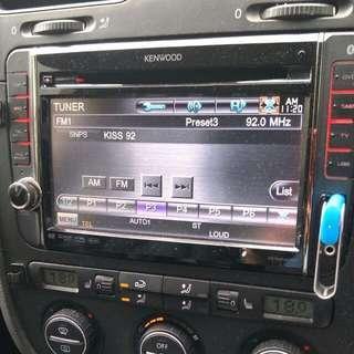 DDX6308T Kenwood DVD Head Unit Volkswagen