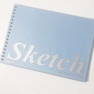 🚚 a5 sketch book blank