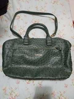 #限時特價  🈹Anne Klein Large Green Tote / Crossbody bag