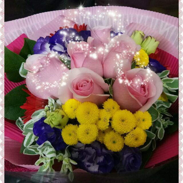 😘💐 鮮花花束     Fresh flower bouquet🌹