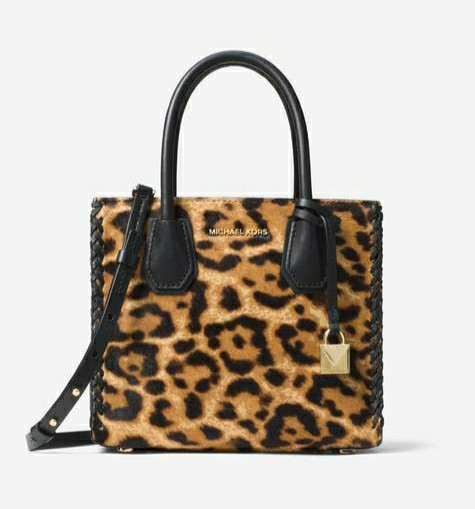 3ebea923f726 ❤ Michael Kors Mercer Leopard Calf Hair Crossbody, Women's ...