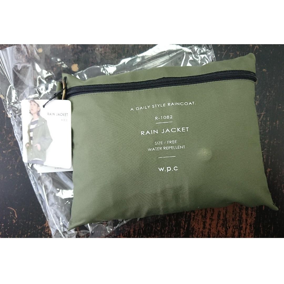 購自日本 w.p.c rain jacket 軍綠色 雨褸 外套 風褸