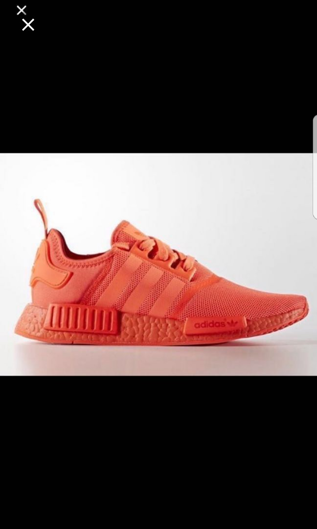 promo code ec156 212c0 Adidas NMD R1 Solar Red, Men s Fashion, Footwear, Sneakers on Carousell