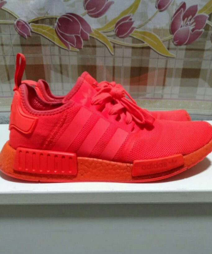 quality design 55955 960ee Adidas NMD Solar Red