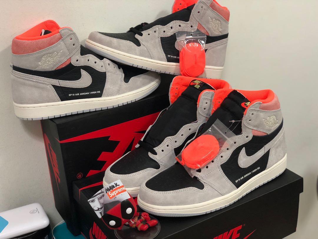 uk availability abb3f 14bed Air Jordan 1 crimson sp19, Men s Fashion, Footwear, Sneakers on ...