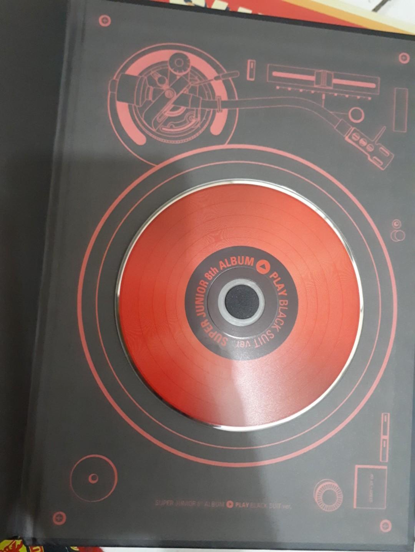 ALBUM SUPER JUNIOR PLAY / ALBUM KPOP BLACK SUIT SUPER JUNIOR