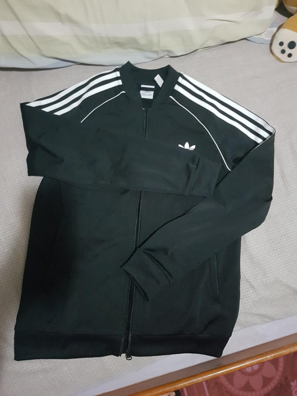 2569378a27c7 Authentic Adidas Track Jacket Unisex