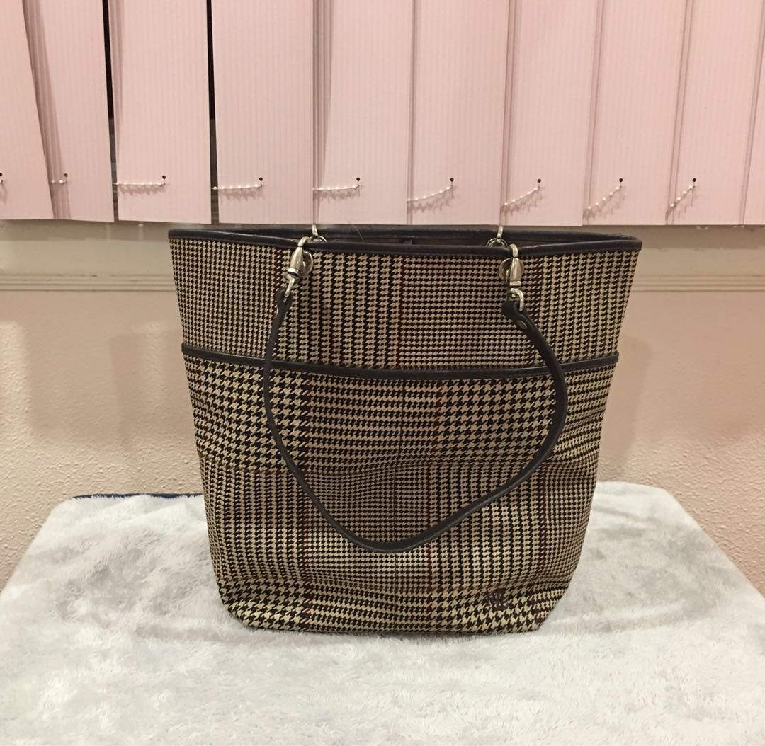 f634a42955 Authentic Ralph Lauren Tote, Women's Fashion, Bags & Wallets on ...