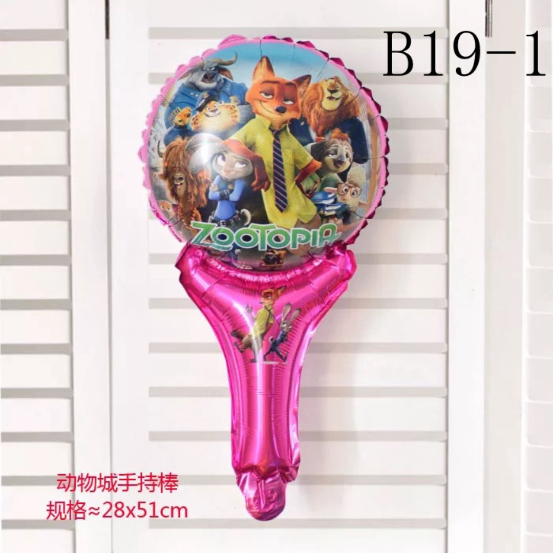 B19 Birthday Party Foil Balloon Zootopia Zoo To Pia Design Craft