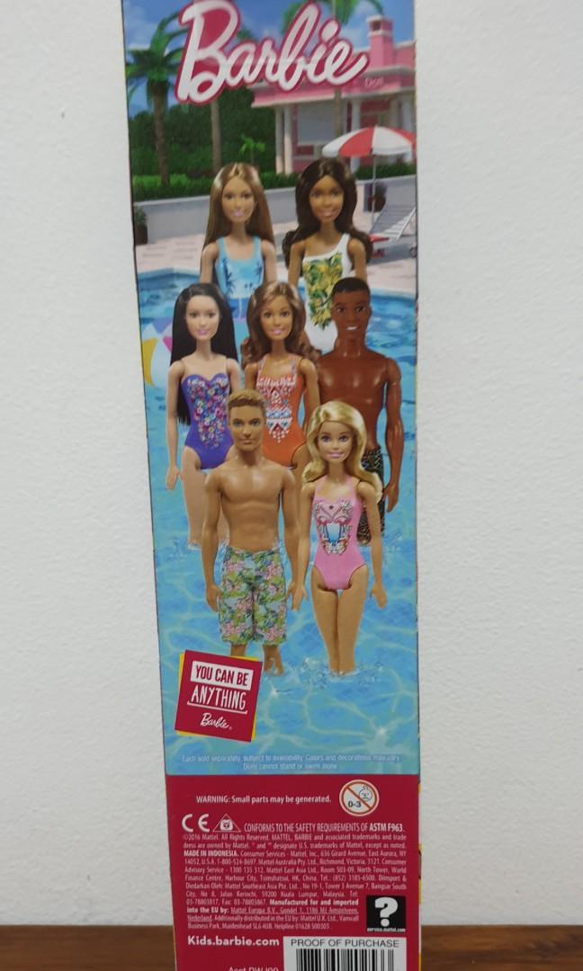 Barbie - water play