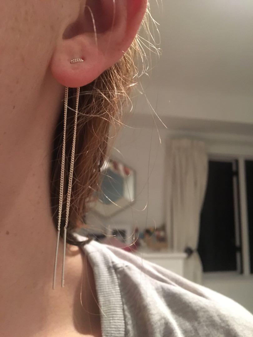 Boh Runga Loop Earrings