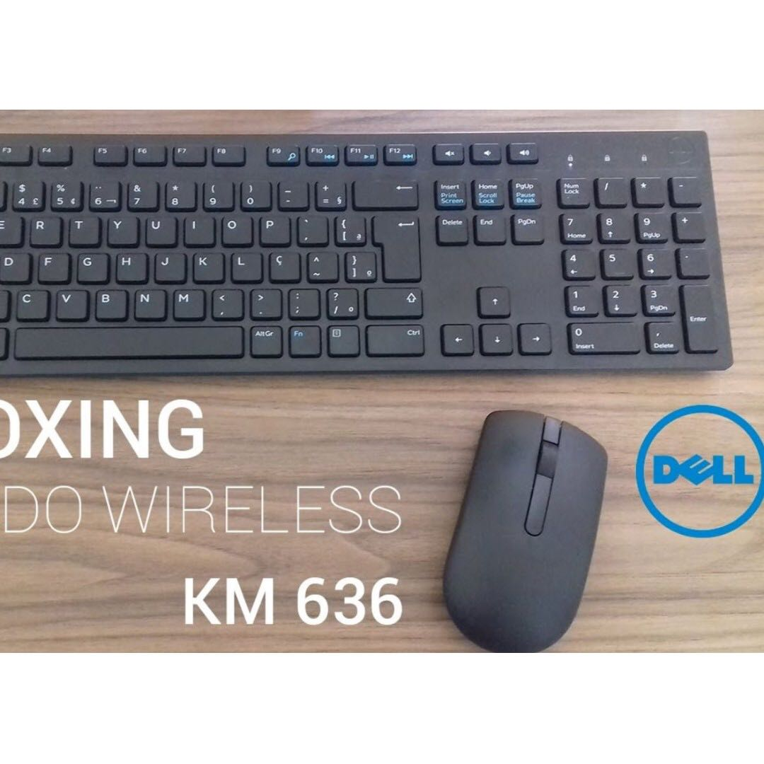 39117143448 ... Brand New Dell Wireless Keyboard Mouse KM636 Electronics Computer Parts  & Accessories on Carousell